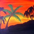 Kona Sunset by Charles  Jennison