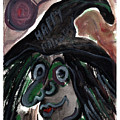 Kookie Halloween Witch by Katt Yanda