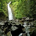 Ko'olau Mountain Waterfall by Charmian Vistaunet