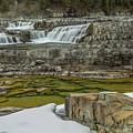 Kootenai Falls In Winter by Wild Montana Images