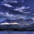 Kootenai Lake Bc Version 2 by Lee Santa