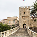 Korcula Old Town Stairs by Didier Marti