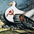 Korean War: Cartoon, 1950 by Granger