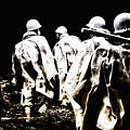 Korean War Memorial by Bill Cannon