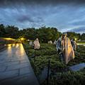 Korean War Memorial by David Morefield