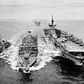 Korean War: Ship Refueling by Granger