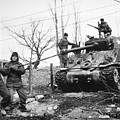 Korean War: Tank, 1951 by Granger