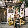 Kostas Taverna, Kastro, Thassos by Daliana Pacuraru