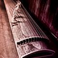 Koto - Japanese Harp by Bill Cannon