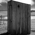 Koyl Cemetery Outhouse5 by Curtis J Neeley Jr
