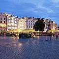 Krakow Main Square By Night by Artur Bogacki
