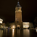 Krakow Town Hall Tower by Julian Wicksteed
