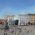 Krakow, Town Square by Aleksander Rotner