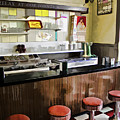 Kramers Drug Store Soda Fountain by Kevin Anderson