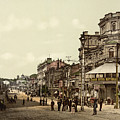 Krestchatik Street In Kiev - Ukraine - Ca 1900 by International Images
