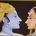 Krishna N Radha by Devendra Sharma