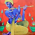 Krishna by Sekhar Roy