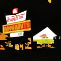 Krispy Kreme At Night by Tommy Midyette
