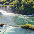 Krka National Park Waterfalls 6 by Sally Weigand