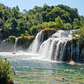 Krka National Park Waterfalls 9 by Sally Weigand