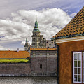 Kronborg Castle From The Moat House by Antony McAulay