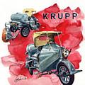 Krupp Street Sweeper by Yoshiharu Miyakawa