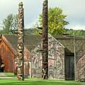 Ksan Historical Village by Frank Townsley