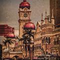 Kuala Lumpur, Malaysia - Red Onion Domes by Mark Forte