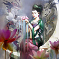 Kuan Yin Lotus Of Healing by Stephen Lucas