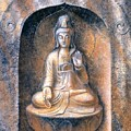Kuan Yin Meditating by Sue Halstenberg