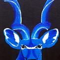 Kudu Blue by Trisha Lyons