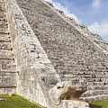 Kukulkan Pyramid At Chichen Itza by Bryan Mullennix