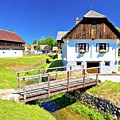 Kumrovec Picturesque Village In Zagorje Region Of Croatia by Brch Photography