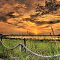 Kure Beach Sunrise by Dan Smathers