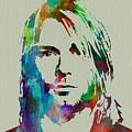 Kurt Cobain Nirvana by Naxart Studio