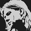 Kurt Cobain Poster Art by Pd