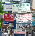Kuta Street Signs -- Bali by Mark Sellers