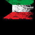 Kuwait Shirt Gift Country Flag Patriotic Travel Asia Light by J P