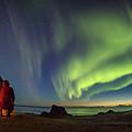 Kvalvika Under The Lights by Alex Conu