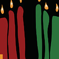 Kwanzaa Card by Carla P White