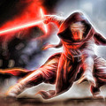 Kylo Ren I Will Fulfill Our Destiny by Scott Campbell
