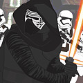 Kylo Ren - Star Wars by Troy Arthur Graphics