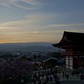 Kyoto And Kiyomizu-dera At Sunset by Brian Kamprath