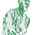 Kyrie Irving Boston Celtics Pixel Art 42 by Joe Hamilton