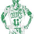 Kyrie Irving Boston Celtics Pixel Art 8 by Joe Hamilton