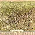La Antique Map by Pd
