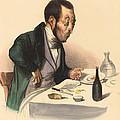 La Carte A Payer by Honor? Daumier