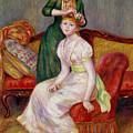 La Coiffure by Renoir