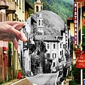 La Comacina Ristorante-colonno, Ital by Jennie Breeze
