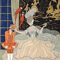 La Comtesse From Personages De Comedie by Georges Barbier